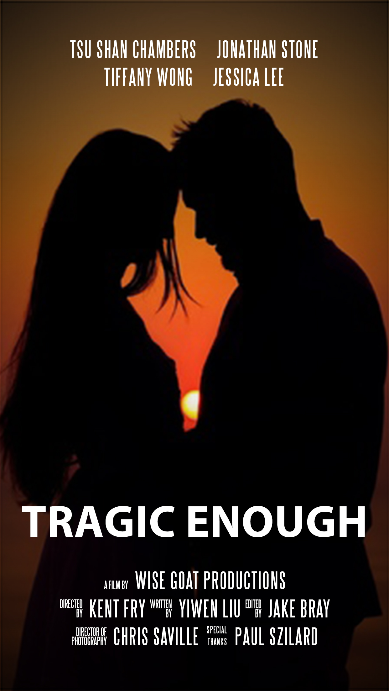 Tragic Enough Poster