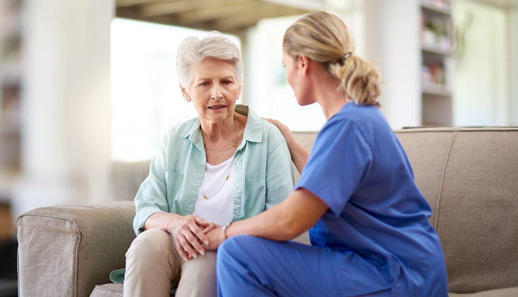 patient nurse assessing mental health 2